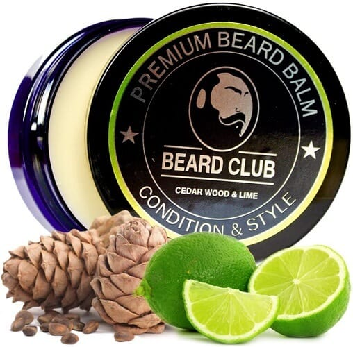 Balsamo per barba Beard Club Legno di Cedro & Lime